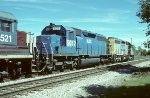 HLCX SD40 5017